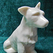 Irish Belleek 0423 Terrier