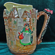 Royal Doulton Dickens Series G Jug/Pitcher Sairey Gamp D6395