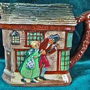 Royal Doulton Dickens Series G Jug/Pitcher Old Curiosity Shop D5584
