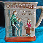 Royal Doulton Dickens Series G Pitcher Oliver Asks For More D6285