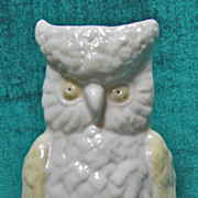 Irish Belleek 0679-15 Owl Spill