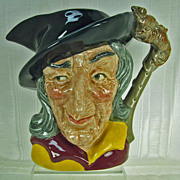 Royal Doulton Character Jug Pied Piper D6403 Large Size