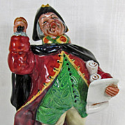 Royal Doulton Figure Town Crier HN 2119 Large Size