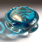 Murano glass bowl by Flavio Poli for Seguso, circa 1930�s-1950�s