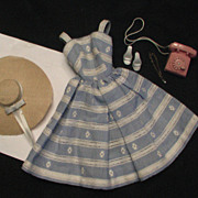 "Vintage 1960's Barbie Outfit ""Suburban Shopper"" Excellent Condition"