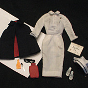 Vintage 1960's Barbie Outfit Registered Nurse Complete with all Accessories