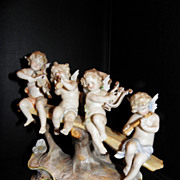 Volkstedt figural group