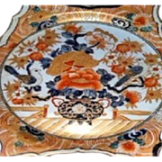 SALE Pair of 19th c. IMARI Beautiful  Chargers