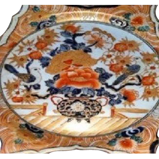 Pair of 19th c. IMARI Beautiful  Chargers