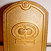 Cyclopedia of Medicine Metal Bookend by L.F. Grammes & Sons
