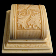 Old Celluloid Ring Box From San Francisco Jeweler
