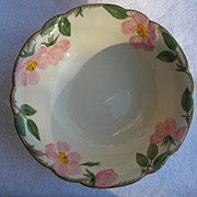 "9"" Round Vegetable Bowl Franciscan China Desert Rose USA Backstamp"