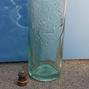 1880 Vallet's Patent Closier George Bellamy Hulme Mineral Water Bottle