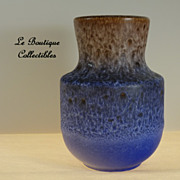 Steuler Lava Art Pottery Vase Germany