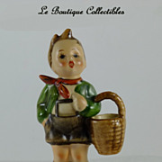 Hummel Village Boy Figurine TMK2 Mint