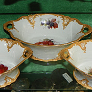 Furstenberg Dessert Service.  Early 20th Century.