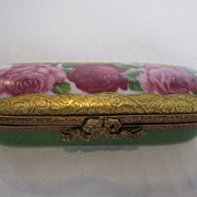 Limoges Three Rose Box