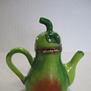 Limoges Green Tea Pot Box