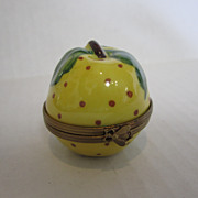 Limoges Golden Apple Box