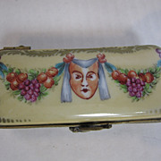 Limoges Rectangle Face Mask Box