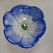 Limoges Blue Flower Box