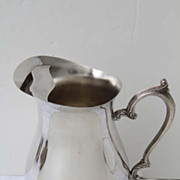 International Silver Water Pitcher Silverplate Hallmarked