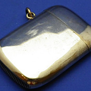 Vintage Gold 10 Year Plated Match Safe or Vesta Case
