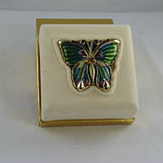 Estee Lauder White Linen Butterfly Solid Perfume Compact