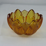 Fenton Small Amber Bowl