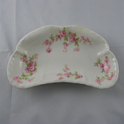 Haviland & Co. Limoges Bone Dish With Roses