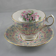 Royal Bridal Gown Cup and Saucer