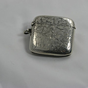 Early 20th Century Sterling Matchsafe