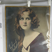 Photograph Hope Hampton, Silent Motion Picture Actress