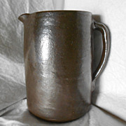 Vintage Stoneware Pitcher 1890's