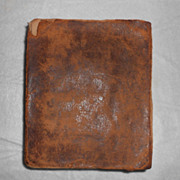 Antique rare book, Walker's Critical Pronouncing Dictionary