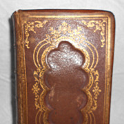 Vintage Book, The Book of Common Prayer, 1863
