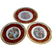 Set of 3 vintage Plates by CICO Bavaria
