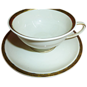 set of 6 Rosenthal Winifred pattern Cups & Saucers