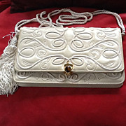 Vintage Judith Leiber Snakeskin Purse