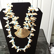 Vintage  Demi Parure: Choker and Necklace