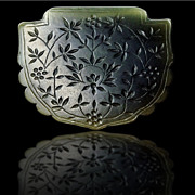 A Timurid Green Jade Pendant , Iran , 15th Century