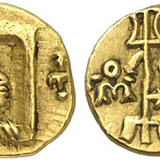 kushan Vima Kadphises gold coin . 1.94 g