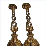 A Pair of Silver Mughal Rose Water 18th Century