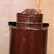 Antique Darkroom Lantern C. 1880-90 With Two Glass Filters!