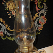 REDUCED Old Hurricane Lamp