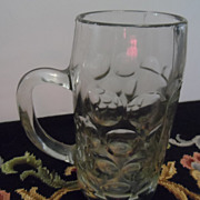 REDUCED Schlossbrauerei Glass Beer Stein
