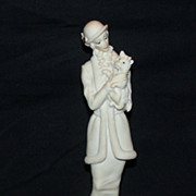 SALE PENDING Giuseppe Armani Lady with Dog Figurine 0421-F with Original Box Mint Condition