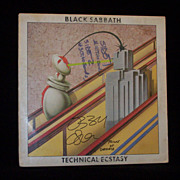 Ozzy Osbourne Signed Prince of Darkness Black Sabbath Album