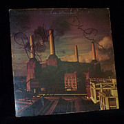PINK FLOYD Signed ANIMALS Record Album ROGER WATERS and Entire Group Autographed