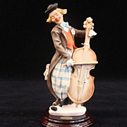"SOLD Giuseppe Armani Figurine ""The Music Man"" Number 0330C Open Edition Capodimonte"